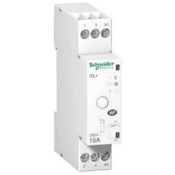 Schneider - Prodis, Tl+, Télérupteur Silencieux 1P 16A 230Vca, Livré Avec 1 Intercalaire - Réf : A9C15032