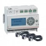 Legrand - Pack Ecocompteur 110-230 V avec 3 tores fermés 60 A - Réf : 412010