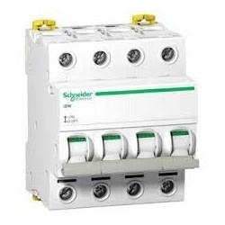 Schneider - Acti9, Isw Interrupteur-Sectionneur 4P 40A 415Vac - Réf : A9S65440