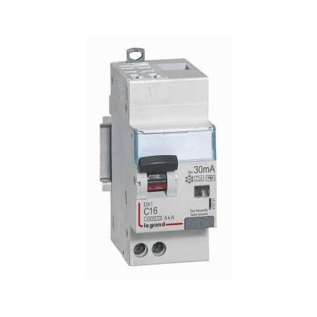 Legrand - Disjoncteur diff DX³ 4500 -auto/vis- U+N 230V~ 20A- typeHpi-30mA -courbe C - 2M - Réf : 410762