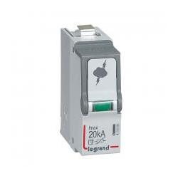 Legrand - Cassette de remplacement pour parafoudres T2/20 kA