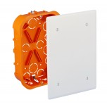 Eur'ohm - Boîte de dérivation encastrée - XL PRO - 170x110x40 mm - Réf : 51004