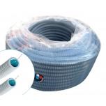 Courant - Gaine ICTA 3422 FTA - gris - fil tire-aiguille - Ø25mm - 100m - Réf : 10041940