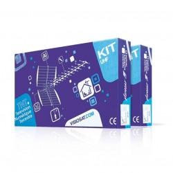 Cahors - Kit Réception Cahors - Antenne 17HD + Kit préampli-Alim VKA 101 + 6 Connecteurs F - VISIOSAT - Réf : 0145254R13