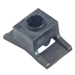 Mecatraction - Embases à cheville Ø 8 mm avec écartement mural 6 mm - boîte de 100 - Réf : CH8P