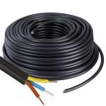 Câble U1000 R2V CU (Rigide) - 3G1.5 mm² - Couronne de 100m - Réf : 026505