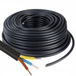 Câble U1000 R2V CU (Rigide) - 3G2.5 mm² - Couronne de 100m - Réf : 026705