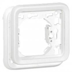 Legrand Plexo - Support plaque - Composable blanc Artic - 1 poste - Réf : 070792