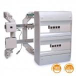 Ohmtec - Tableau de communication adapté à l'installation de la fibre optique - Réf : 423805