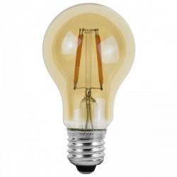 Woltz - Ampoules LED à filaments E27 - Verre ambré - Réf : 840060