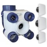 S&P Unelvent - Kit VMC Autoréglable - DECO 2 - Réf : 604141