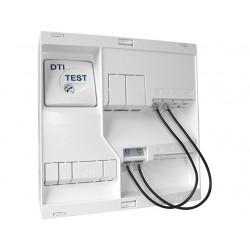 Michaud - Coffret de Communication NEO Grade 1 - 4 RJ45 - DTI + Filtre - TV 2 sorties - Réf : LB117