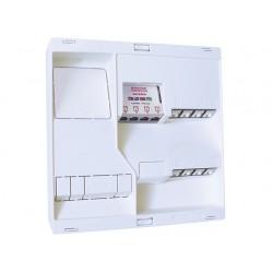 Michaud - Coffret de Communication NEO Grade 1 - 8 RJ45 - DTI + Filtre - TV 4 sorties - Réf : LB118