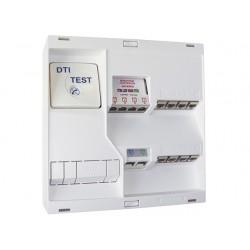 Michaud - Tableau de communication NEO - Grade 2 - 8 RJ45 - DTI + Filtre - TV 4 sorties - Réf : LB218