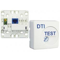 Michaud - Dispositif de Terminaison Intérieure (DTI) intégrant un parafoudre - RJ45 - Grade 2 - Réf : Q210