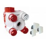 S&P Unelvent - KIT VMC Autoréglable - DECO DHU K à sonde hygrométrique - Réf : 603116