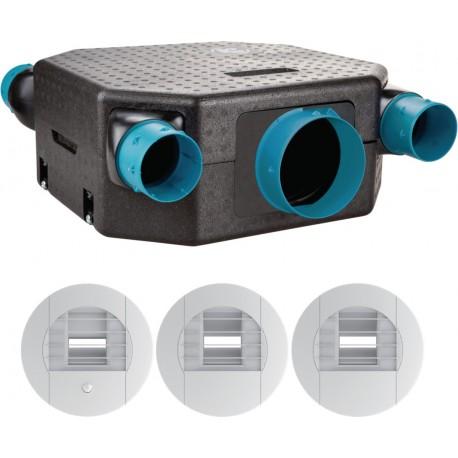 Unelevent - Vmc Flat Kit Hygro Hb T3/7P - Réf : 604811