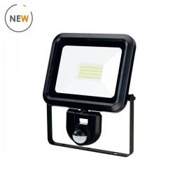 Woltz - Projecteur à LED étanche - à détection - 30W - Réf : 811223