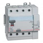 Legrand - Inter diff DX³-ID - vis/auto - 4P - 400V~ - 40A - type AC - 30mA - départ haut - 5M - Réf: 411652