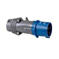 Legrand - Fiche mobile droite Hypra IP44 16A - 200V~ à 250V~ - 2P+T - plastique - Réf : 052042