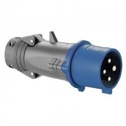Legrand - Fiche mobile droite Hypra IP44 16A - 200V~ à 250V~ - 3P+T - plastique - Réf : 052043