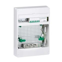 Schneider - Lexcom home - coffret grade 2tv box essential - 6xrj45 cat 6 - resi9 18m 3r - Réf : VDIR390042