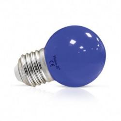Vision-EL - Ampoule LED 1W bulb E27 bleu - Réf : 7619