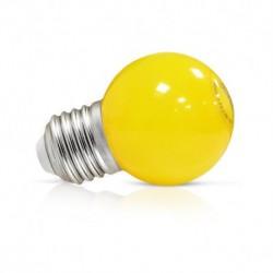 Vision-EL - Ampoule LED 1W bulb E27 jaune - Réf : 7627