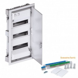 Ohmtec - Tableau 3 rangées (42 modules) - Réf : 423192