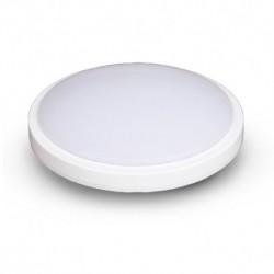 Vision-EL - Plafonnier LED Hublot 18W 230V 4000°k IP65 classe 2 Ø280 mm 1650l - Réf : 77886