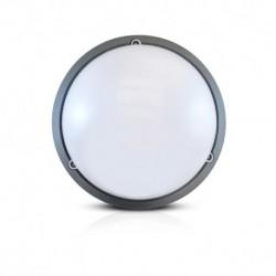 Vision-EL - Plafonnier LED Hublot 18W 4000°k gris anthracite boite IP65 classe 2 mat - Réf : 778611