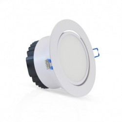 Vision-EL - Spot LED Orientable 12W 6000°K + Alimentation Electronique - Réf : 7638