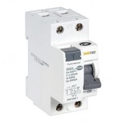Ohmtec - Interrupteur différentiel 1 P + N 63A type AC - Réf : 423313