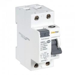 Ohmtec - Interrupteur différentiel 1 P + N 40A type AC - Réf : 423312