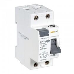 Ohmtec - Interrupteur différentiel 1 P + N 40A type A - Réf : 423315