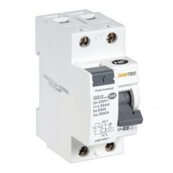 Ohmtec - Interrupteur différentiel 1 P + N 63A type A - Réf : 423316