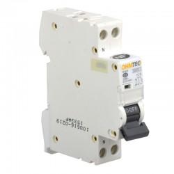 Ohmtec - Disjoncteur 1 P + N 2A 3kA - Réf : 423222