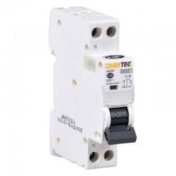Ohmtec - Disjoncteur 1 P + N 10A 3kA - Réf : 423224
