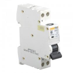 Ohmtec - Disjoncteur 1 P + N 20A 3kA - Réf : 423227