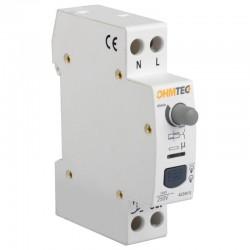 Ohmtec - Télérupteur temporisé silencieux - Réf : 423413