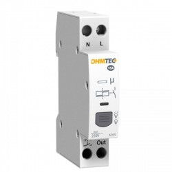 Ohmtec - Télerupteur silencieux 16A - Réf : 423412