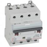 Legrand - Disjoncteur différentiel monobloc DX³6000 10kA à vis 4P 400V~ - 16A - typeF 30mA - Réf : 411244