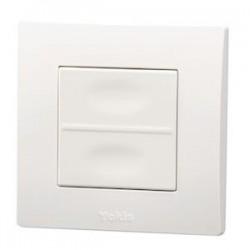 Yokis - Télécommande Murale 2 touches - Power - Code article : 5454419 - Réf : TLM2T45P