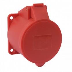 Ohmtec - Prise supplémentaire 16A 400V~ 3P+N+T IP44 - Réf : 423302