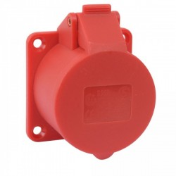 Ohmtec - Prise supplémentaire 32A 400V~ 3P+N+T IP44 - Réf : 423303