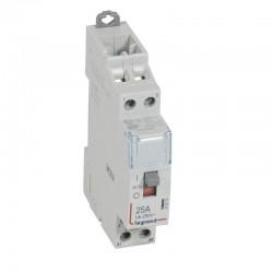 Legrand - Contacteur de puissance CX³ commande manuelle bobine 24V~ - 2P 250V~ - 25A - contact 2F - 1 M - Rèf : 412514