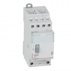Legrand - Télérupteur CX³ standard avec bornes à vis 4P 16A 400V~ contact 4F - tension commande 230V~ - 2 M -Rèf : 412416