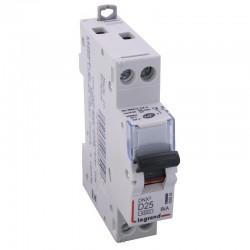 Legrand - Disjoncteur DNX³ 4500 - vis/vis - U+N 230V~ 25A - 4,5kA - courbe D - 1 mod - Réf : 406804