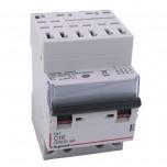 Legrand - Disjoncteur DX³ 4500 - auto/vis - 4P - 400 V~ - 16A - 6kA - courbe C - 3 modules - Réf : 406919