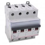 Legrand - Disjoncteur DX³ 6000 -vis/vis- 4P- 400V~-16A-courbeC-peigne HX³ trad 4P - 4M - Réf : 407898